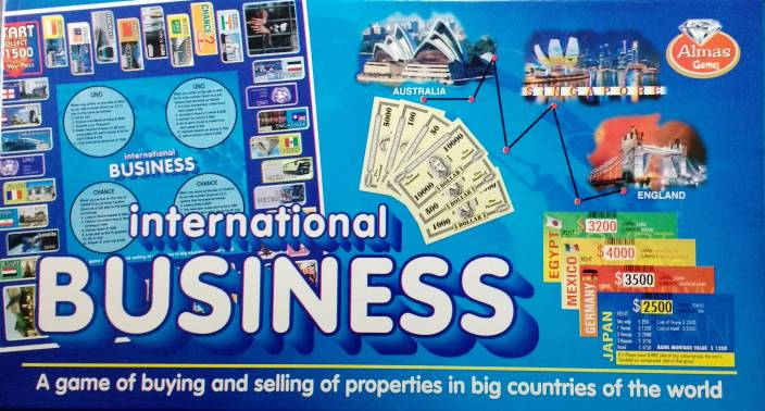 indian business board game
