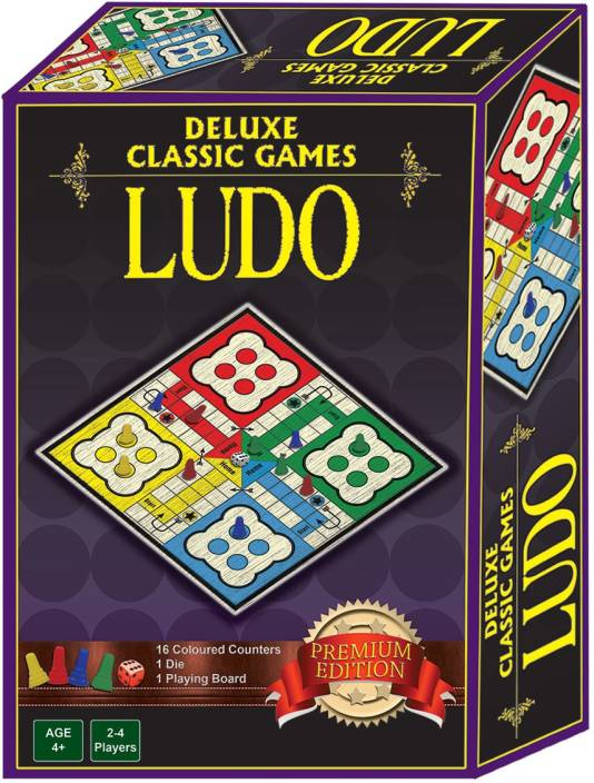 Sterling DELUXE CLASSIC GAMES LUDO Board Game - DELUXE