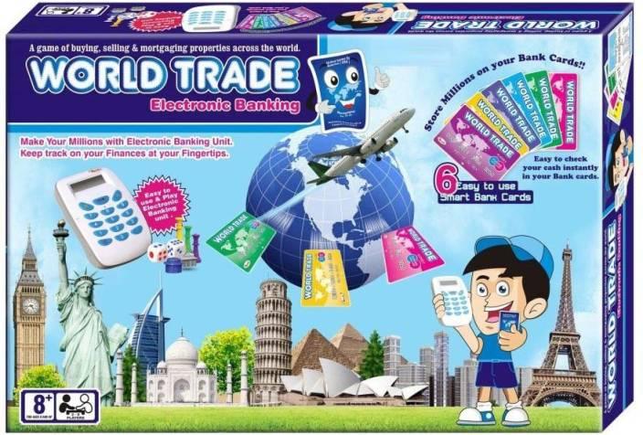 Adaraxx World Trade Business With Credit Card Machine Board Game