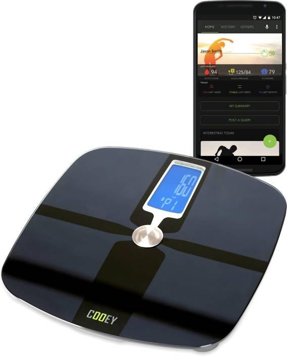 Cooey WBT1-357-B Wireless Body Fat Analyzer