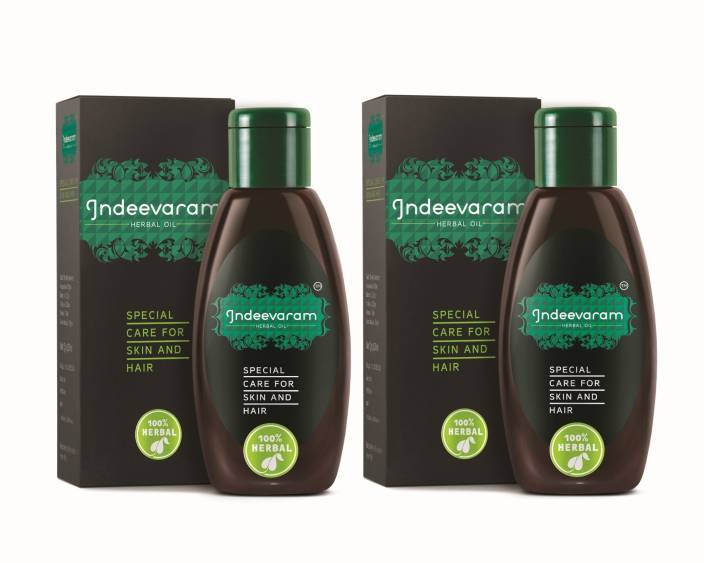 Indeevaram Special Care for Skin and Hair - 100ml x 2