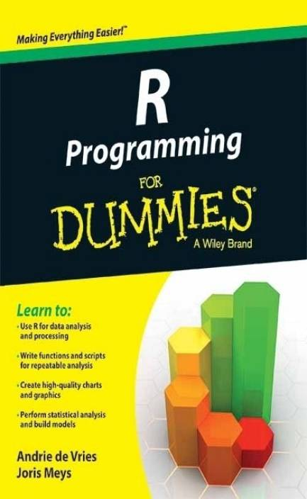 R Programming for Dummies: Buy R Programming for Dummies by