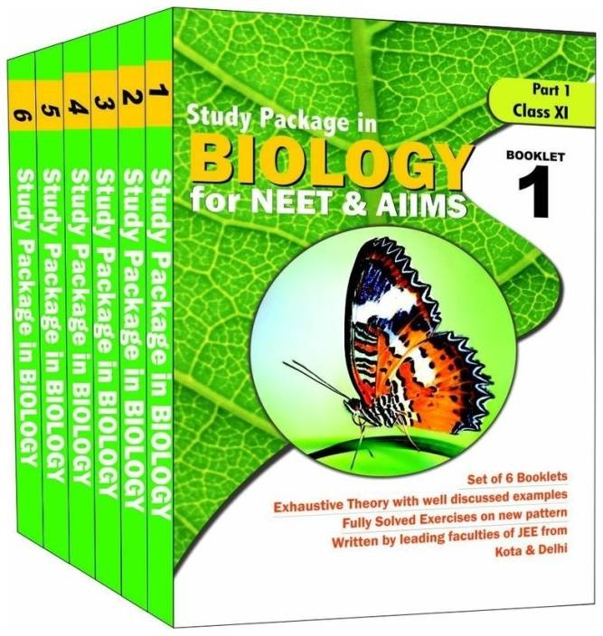 Study Package in Biology (Set of 6 Books) : For NEET and AIIMS