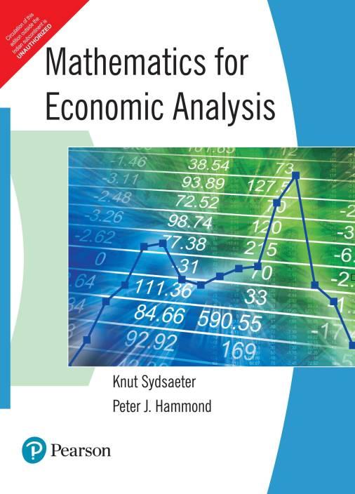 MATHEMATICS FOR ECONOMIC ANALYSIS 1st Edition