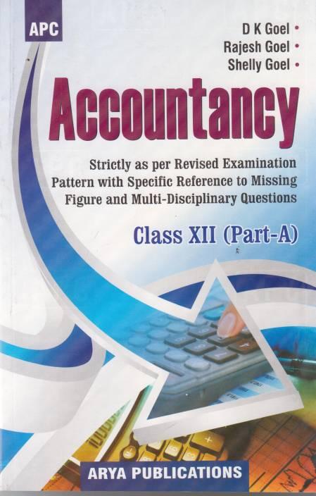 APC Accountancy Class-12 (Part-A) 12 Edition