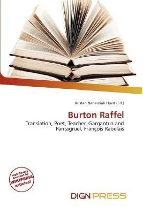Burton Raffel: Buy Burton Raffel by Kristen Nehemiah Horst at Low