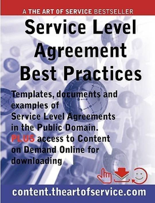 Service Level Agreement Template Service Level Agreement Sample