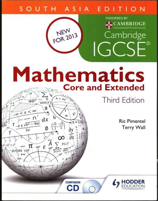Cambridge igcse mathematics core and extended with cd 3rd south cambridge igcse mathematics core and extended with cd 3rd south asian edition fandeluxe Gallery