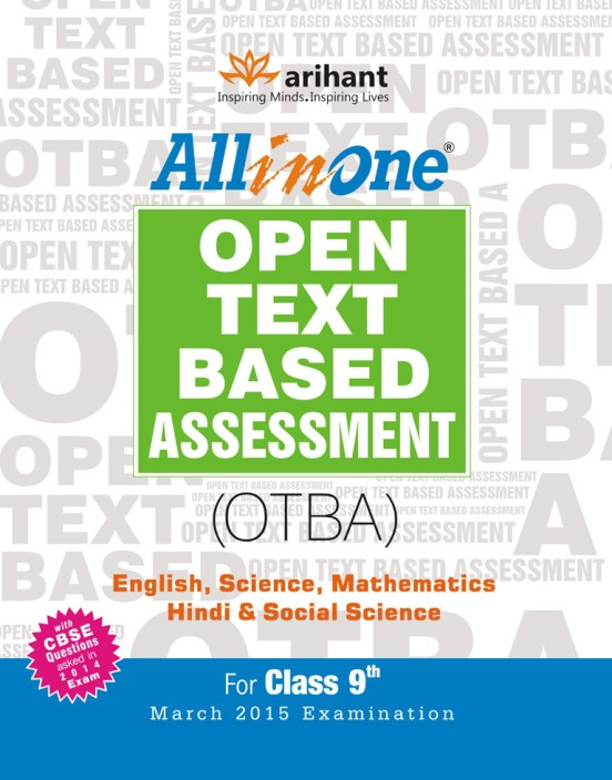 Otba For Class 9 2015 Book