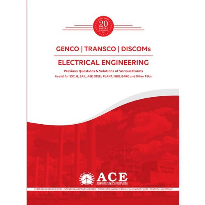 GENCO/TRANSCO/DISCOMs-Electrical Engineering- 20 years of Previous Questions with solutions for Various Exams with 0 Disc