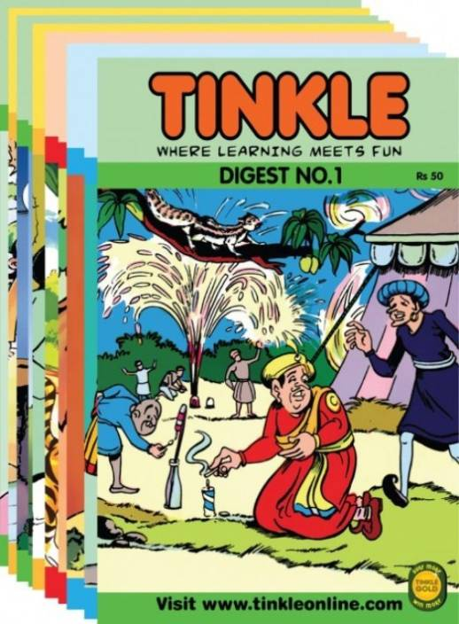 Best Of Tinkle: 10 Tinkle Digests (1980 - 2008) : Where Learning Meets Fun