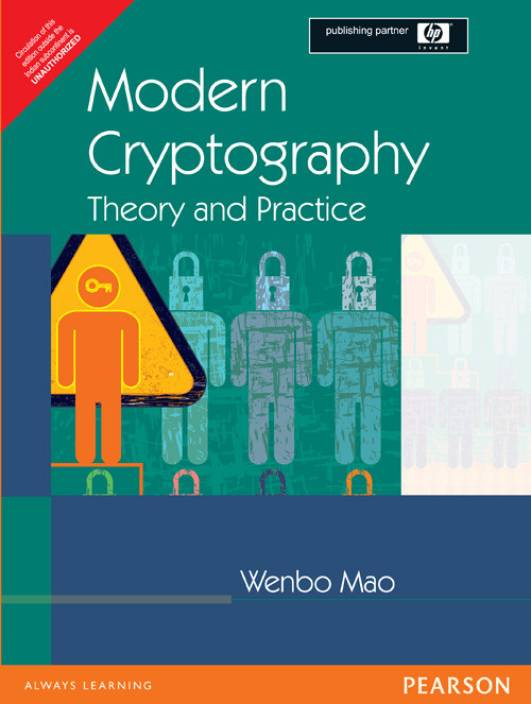 Modern Cryptography : Theory and Practice 1st Edition