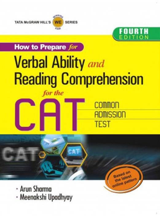 How to Prepare for Verbal Ability and Reading Comprehension for the CAT Common Admission Test 4th  Edition