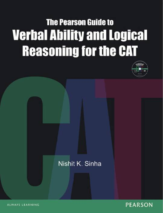 The Pearson Guide to Verbal Ability and Logical Reasoning for the CAT 1st Edition