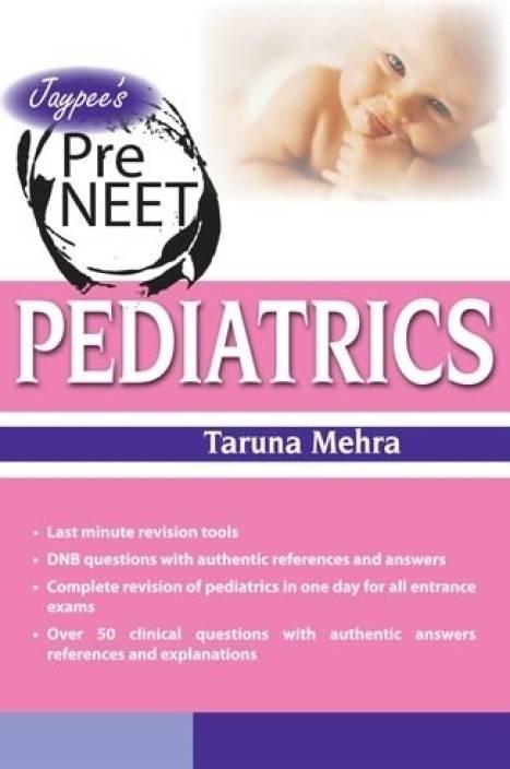 JAYPEE'S PRE NEET PEDIATRICS 1st  Edition