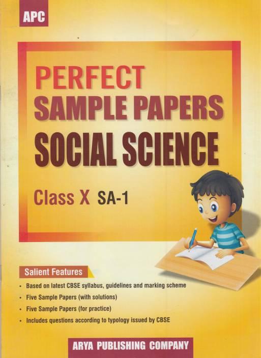 APC Perfect Sample Papers Social Science Class-10 SA-1