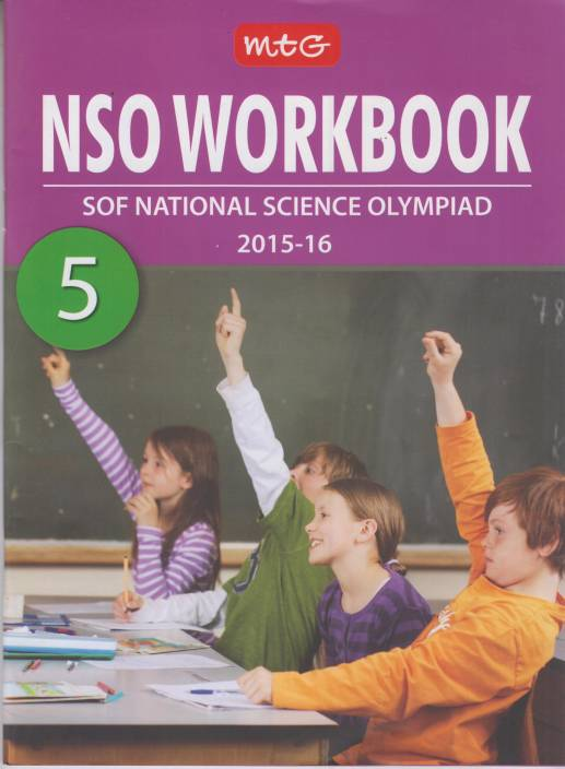MTG National Science Olympiad NSO Workbook (Class 5)