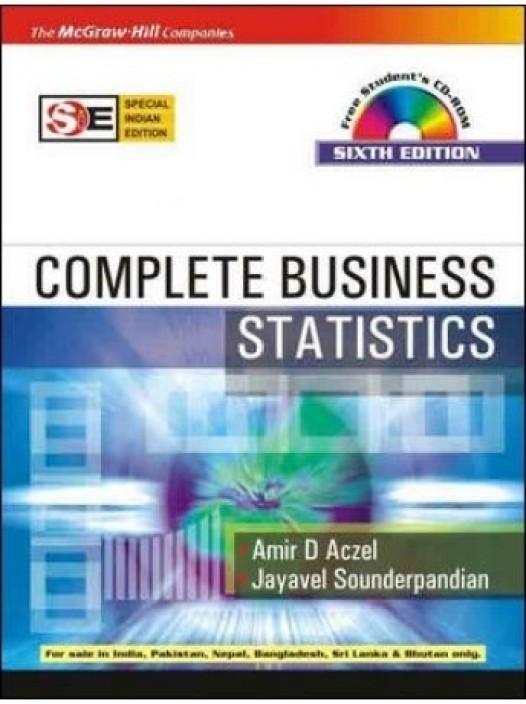 complete business statistics aczel free download