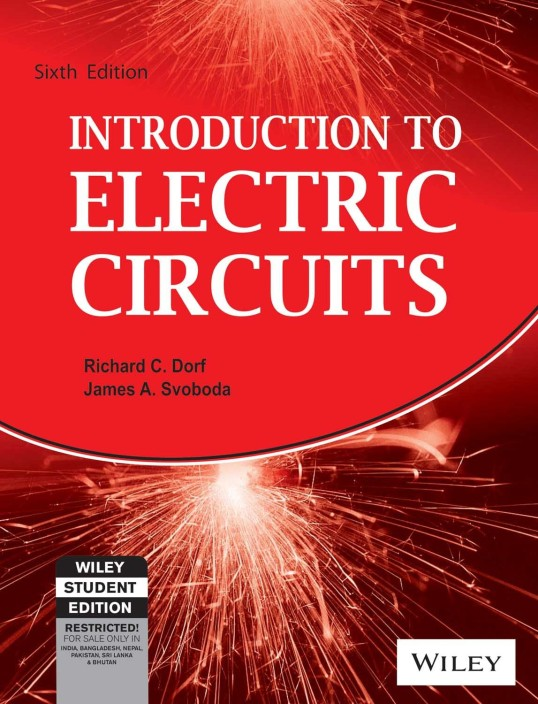 introduction to electric circuits (6th ed ) 6 edition buy