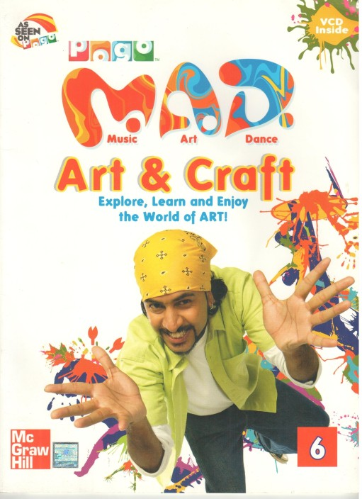 Pogo Mad Art Craft Book