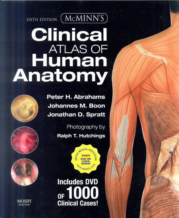 Mcminns Clinical Atlas Of Human Anatomy With Dvd 6th Edition Buy