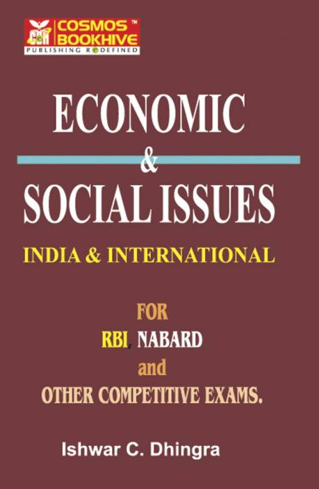 social & economic issues for RBI exam ( INDIA AND INTERNATIONAL )