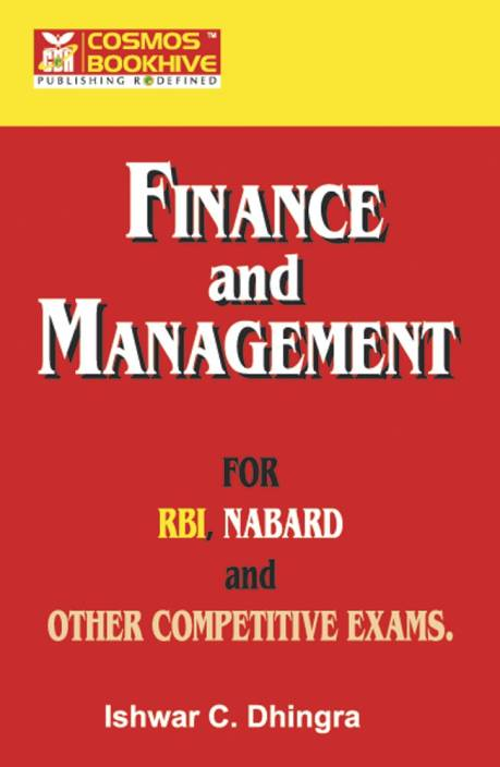 Finance & management for RBI Exam
