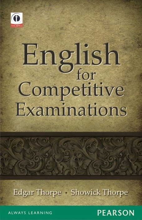 English Book For Competitive Exam