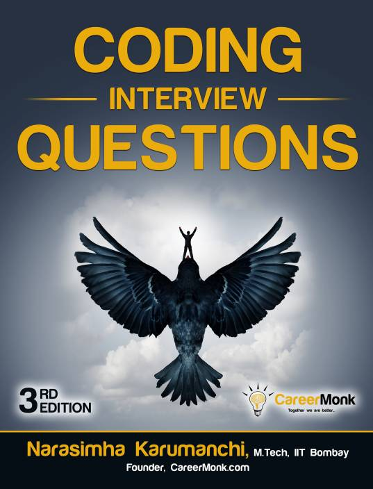 Coding Interview Questions 3 Edition