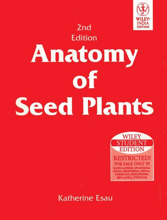 Anatomy Of Seed Plants 2nd Ed 2nd Ed Edition Buy Anatomy Of Seed