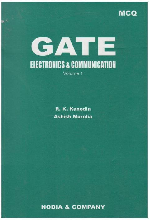 GATE MCQ Electronics & Communication: Multiple Choice Questions with  Complete Solutions 6th Edition