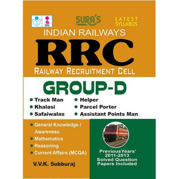 RRB Group D Exam Book