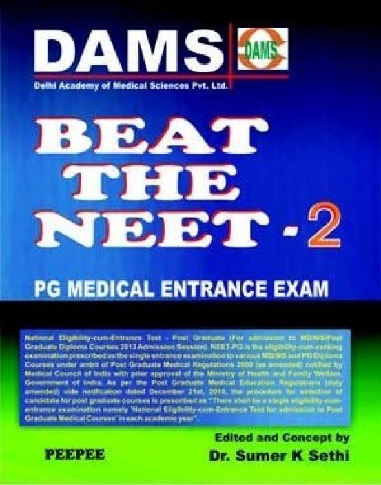 DAMS Beat the Neet: PG Medical Entrance Examination (Book - 2)