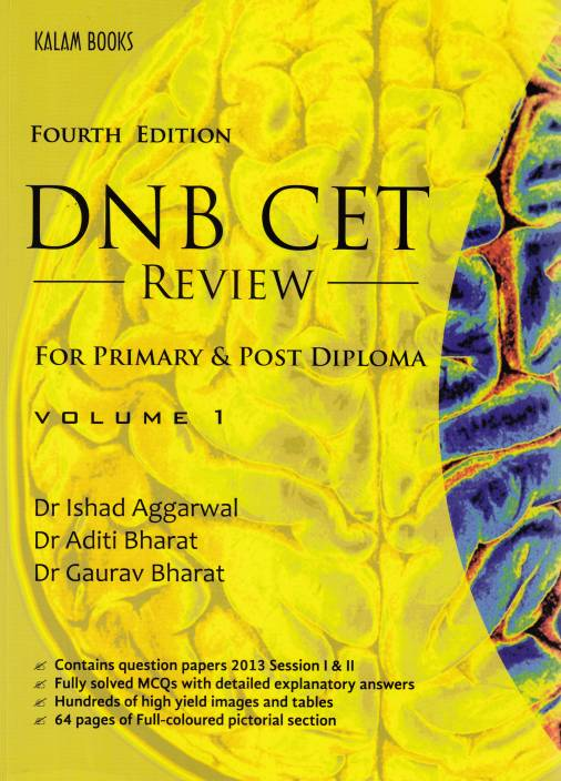 DNB CET Review for Primary & Post Diploma (Volume 1) 4th Edition