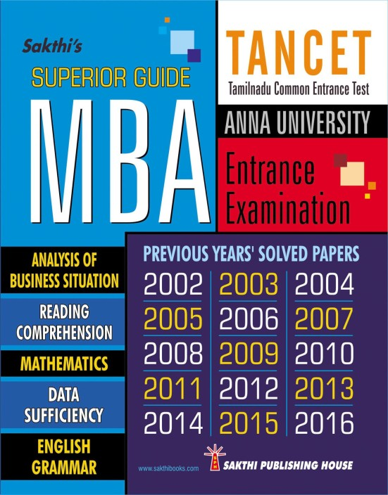 Study pdf mba tancet material