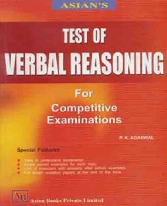 Test of Verbal Reasoning For Competitive Examinations: Buy