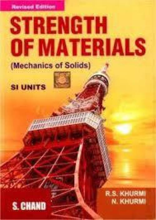 Strength Of Materials (Mechanics Of Solids SI Units), 1/e PB revised edition Edition