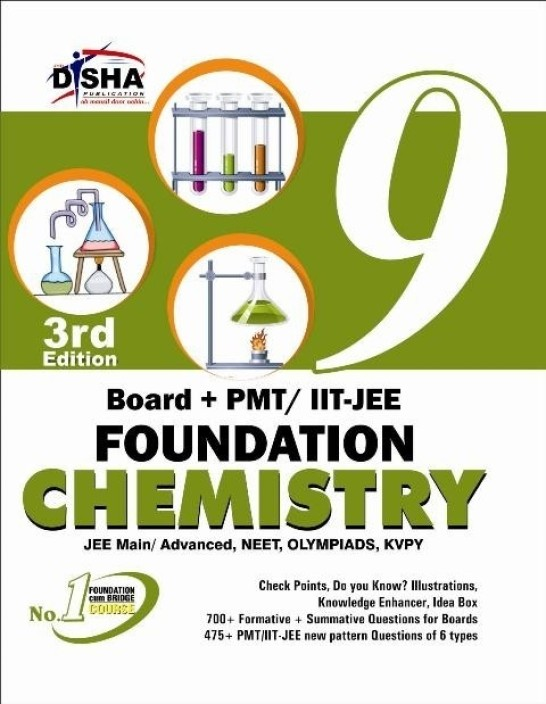 Board + PMT / IIT - JEE Foundation Chemistry (Class 9) 3rd Edition  (English, Paperback, Disha Experts)