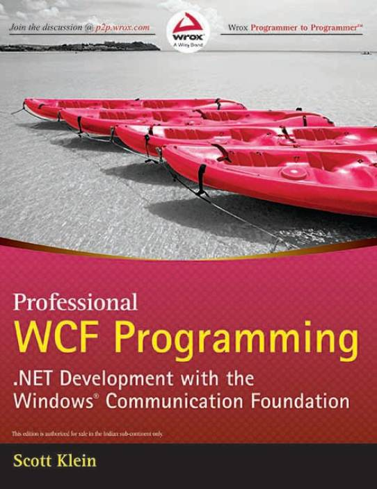 Professional Wcf Programming 1st Edition