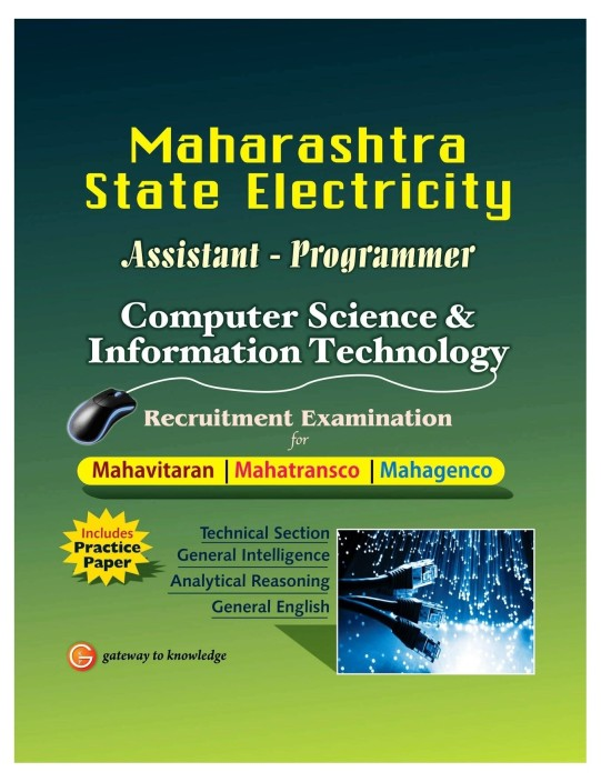 Maharashtra State Electricity Assistant - Programmer Computer Science & Information Technology : Recruitment Examination for Mahavitaran, Mahatransco, Mahagenco 1st Edition  (English, Paperback, GKP)