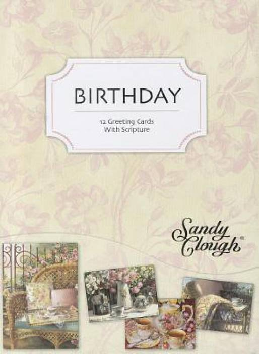 Time For Tea Birthday Cards With 12 Envelopes English Loose Leaf Christian Inspirations