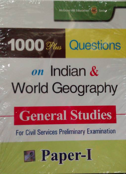 1000 PLUS QUES GEOGRAPHY 1st  Edition