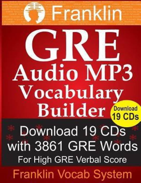 Franklin GRE Audio MP3 Vocabulary Builder: Download 19 CDs with 3861