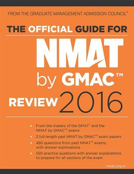 The Official Guide for NMAT by GMAC-Review 2016 1 Edition
