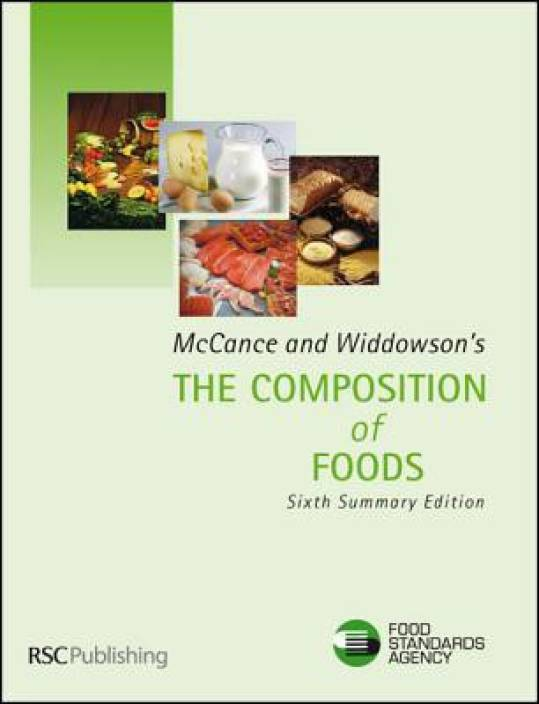 Mccance and widdowson's the composition of foods: summary edition.