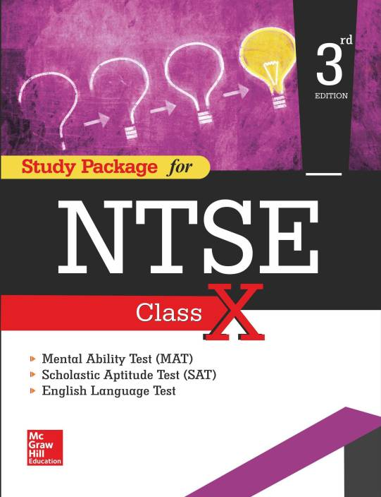 Study Package For Ntse Class X 3 Edition Buy Study Package For Ntse