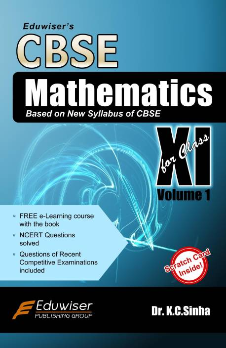 Eduwiser's CBSE Mathematics for Class XI (Volume - 1): Buy
