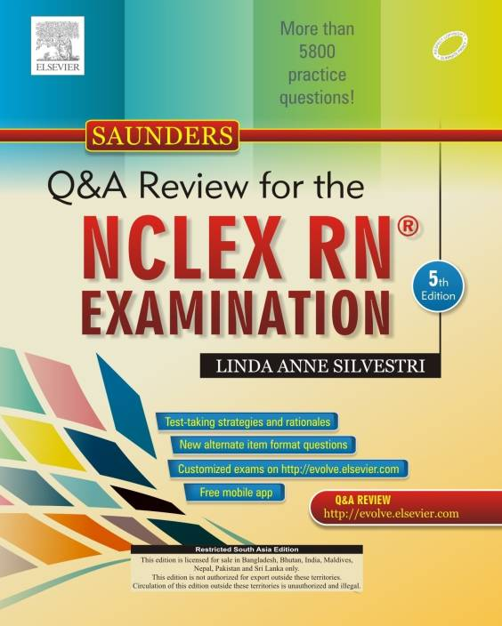 Saunders Qa Review For The Nclex Rn Examination 5th Edition Buy