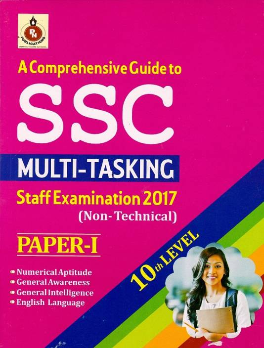 SSC Multi-Tasking Staff Examination Paper-1 (English)