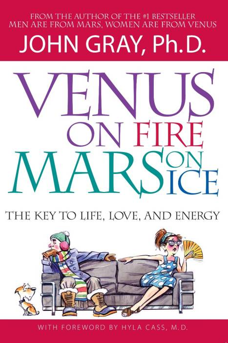Venus on Fire Mars on Ice: The Key to Life, Love, and Energy
